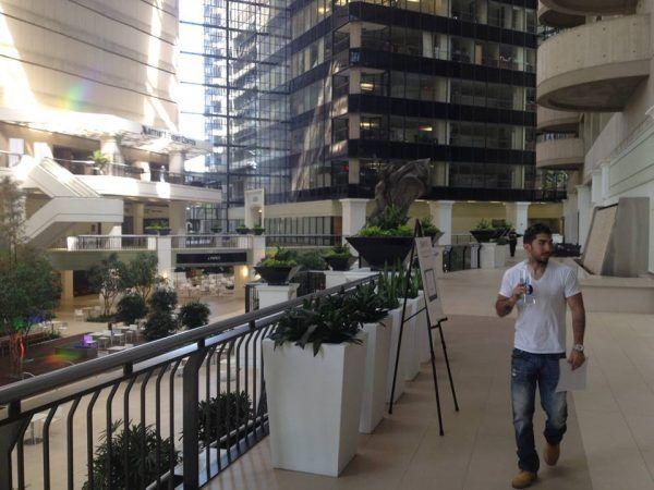 The Dallas Marriott Center where the seminar was held