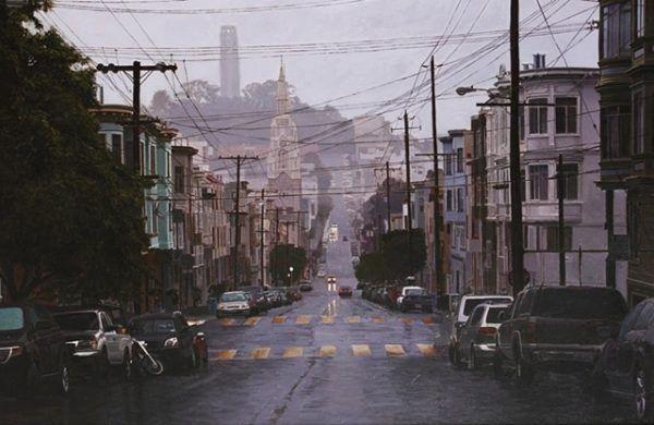 Rainy San Fransisco
