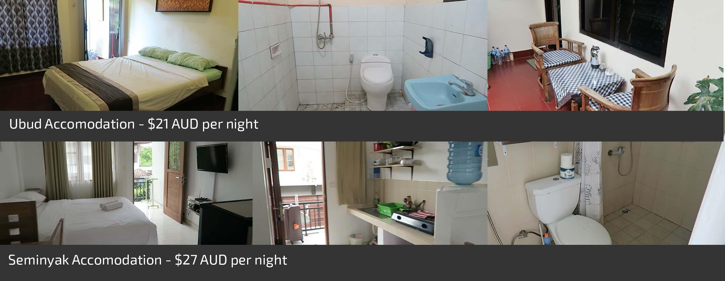 Cheap accommodation in Bali