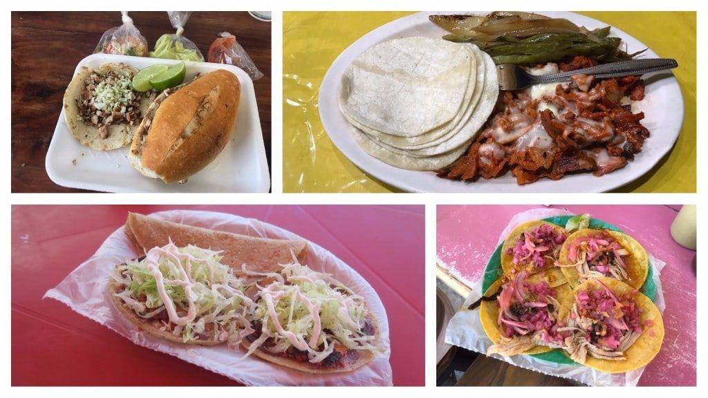 Food in Playa del Carmen