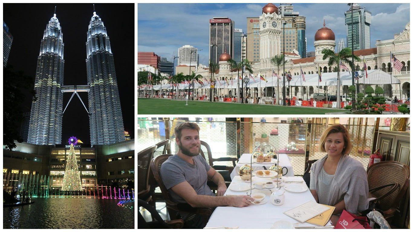 Kuala Lumpur Things to Do Collage