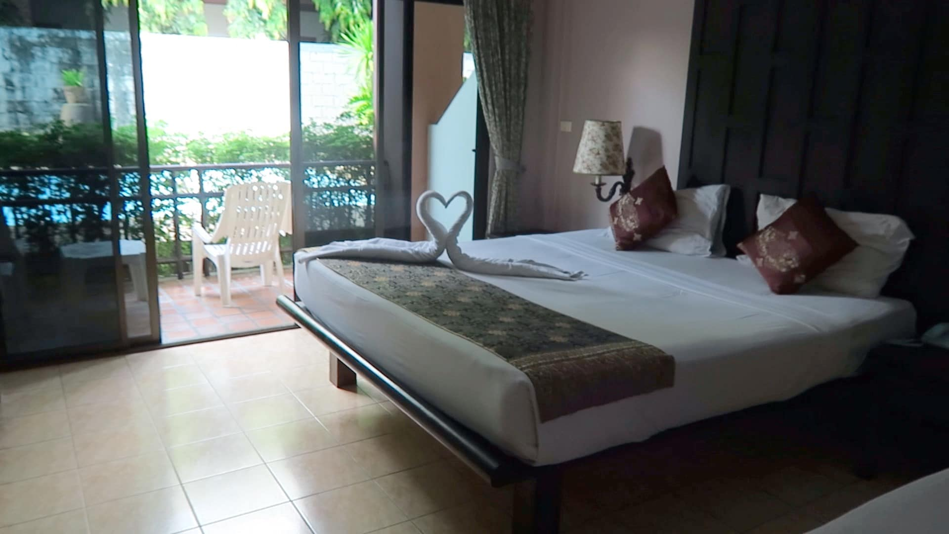 Our room at the First Resort in Patong Beach