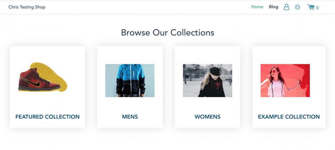 Shopify Custom Storefront App