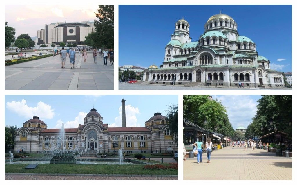 Some well-known sites in Sofia