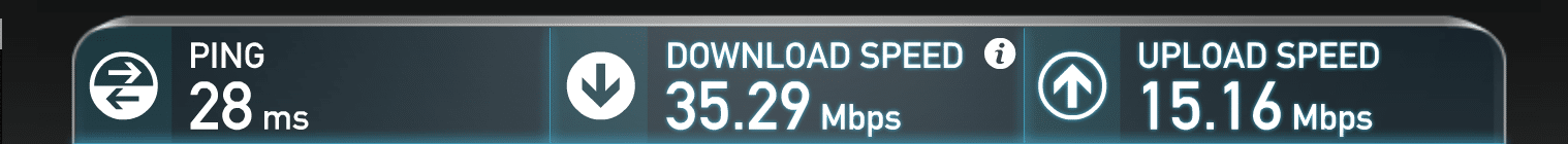 Garage Society Internet Speed