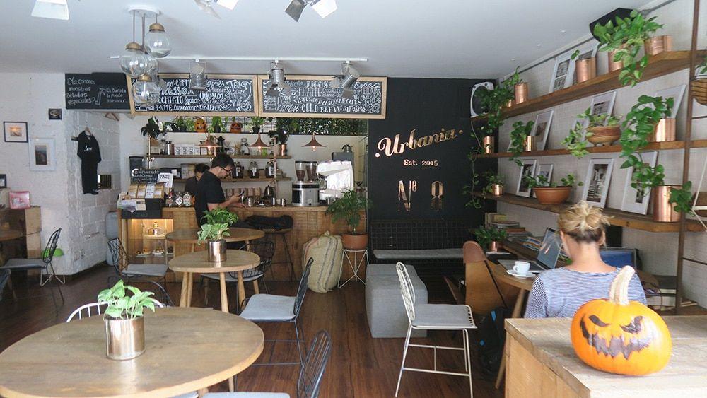 Urbania Cafe Medellin